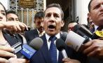 Humala apelará fallo que le impide salir libremente del país
