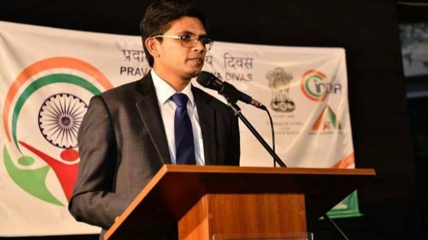 Arup Kuma Saha, jefe de Cancilleria y represante comercial de la Embajada de la India en el Perú. (Foto: Cortesía Embajada de India en Perú)