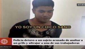 Chorrillos: cae sujeto que robó y violó a trabajadora de grifo