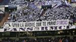 Real Madrid: Sergio Ramos recibió muestras de apoyo en Bernabéu - Noticias de ramon ramos
