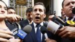 Humala apelará fallo que le impide salir libremente del país - Noticias de julio segura