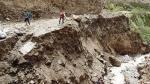 Fuertes lluvias afectan caminos en la sierra y selva central - Noticias de region lima