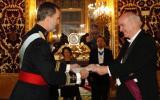 Embajador García Belaunde entregó credenciales al rey de España
