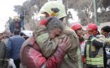 Irán: Más de 20 bomberos muertos por colapso de edificio