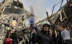 Irán: Colapso de edificio en llamas mata a más de 20 bomberos