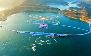 Inauguran en China la pasarela flotante más larga del mundo