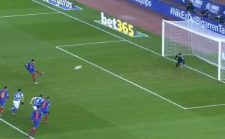 Barcelona: Neymar amagó, generó penal y marcó para blaugranas