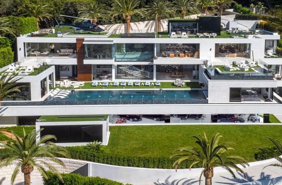 Así luce por dentro la casa más cara de Estados Unidos