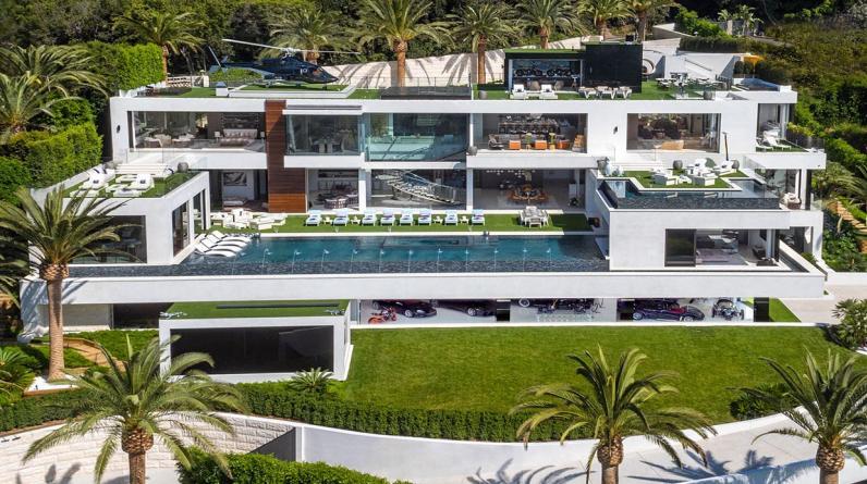Ubicada en el exclusivo barrio de Bel Air (Los Ángeles), se trata de la casa más cara de Estados Unidos. Su precio de venta es de US$ 250 millones. (Foto: BAM Luxury Development)