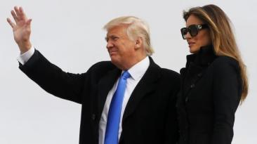 Trump llegó a Washington para tomar la presidencia de EE.UU.