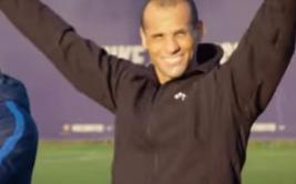 Rivaldo se disfrazó y sorprendió a varios hinchas del Barcelona