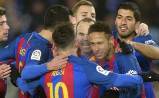 Barcelona ganó 1-0 a la Real Sociedad en Anoeta en Copa del Rey