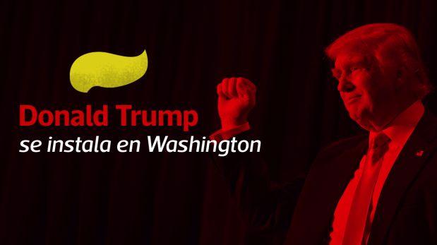 Donald Trump se mudará el viernes a la Casa Blanca, cuando asuma como el presidente número 45 de Estados Unidos. (El Comercio)
