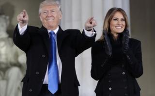 Melania Trump vistió atuendo de diseñadora de origen latino
