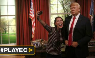 Donald Trump ya reemplazó a Obama pero en museos de cera