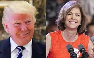 Trump nombra a hispana como directora de medios de prensa