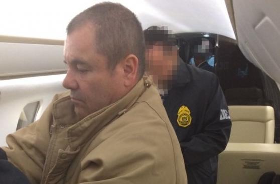 El Chapo Guzmán: Las fotos de su extradición a Estados Unidos