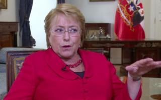 """Bachelet espera de Trump """"cooperación"""" con América Latina"""