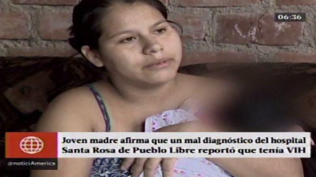 La historia de la joven madre que fue mal diagnosticada con VIH