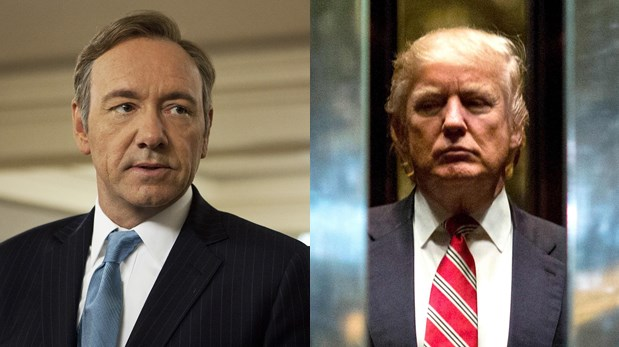 """House of Cards"". Primer adelanto de la quinta temporada se reveló en día de la toma de Donald Trump. (Video: Netflix. Fotos: Difusión/ AFP)"