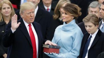 Donald Trump: Así transcurrió su toma de mando [FOTOS]