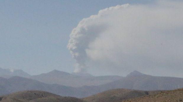 Declaran en emergencia a distritos afectados por el Sabancaya