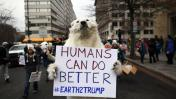 Miles se oponen en Washington a la presidencia de Trump