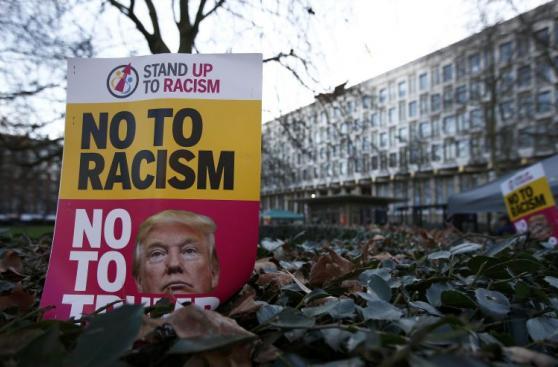 Miles se oponen en Washington a la presidencia de Trump [FOTOS]