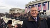 Donald Trump: Embajador Pareja estuvo presente en toma de mando