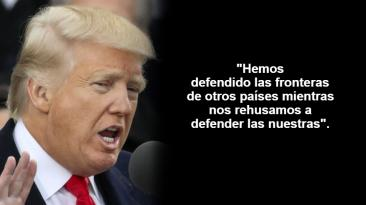 Donald Trump: Lo que dijo en su primer discurso como presidente