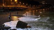 Tablistas y visitas nocturnas en la playa La Pampilla [FOTOS]