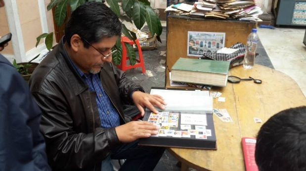 (Casa de Correos y Telégrafos de Lima)