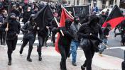 Washington: Choques entre manifestantes antiTrump y la policía