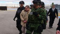 A El Chapo se le vio desorientado al ser extraditado [VIDEO]