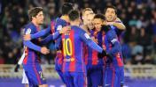 Barcelona se enfrenta a Eibar por la Liga Española