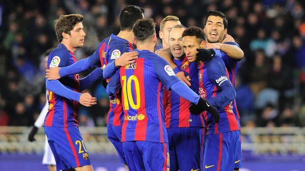 Barcelona vs. Eibar EN VIVO se enfrentan por la Liga española