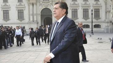 Alan García se pronuncia sobre primera detención por Odebrecht