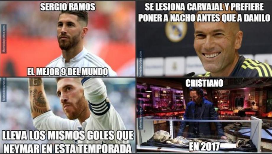 Los memes que dejó el triunfo de Real Madrid sobre el Málaga