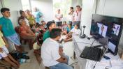 Loreto: realizan primera teleconsulta entre Saramurillo y Lima