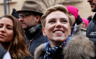 Escucha el discurso de Scarlett Johansson sobre Donald Trump