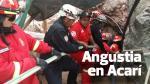 Bomberos se retiran de mina en la que siete quedaron atrapados - Noticias de