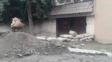 Vecinos de Chaclacayo en alerta por lluvias [FOTOS]