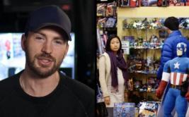 YouTube: Chris Evans y las ocurrentes bromas a fans de cómics