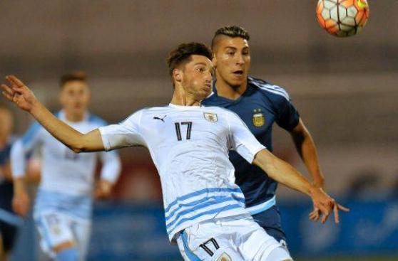Argentina y Uruguay empataron 3-3 en segunda fecha de Sub 20