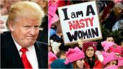 """Donald Trump: """"Protestas son un sello de nuestra democracia"""""""