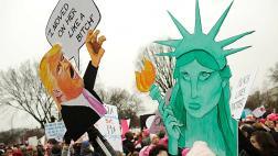 [BBC] Las dos caras de EE.UU. tras la toma de posesión de Trump