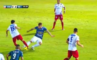 YouTube: la terrible lesión de volante en equipo de Costa Rica