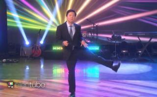 Ken Jeong sorprende a Ellen DeGeneres con divertido baile
