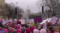Más de dos millones protestan contra Trump en EE.UU.
