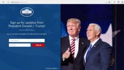 Donald Trump: La Casa Blanca ya no tiene página web en español